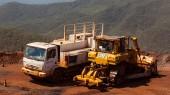 caminhões de abastecimento e lubrificação